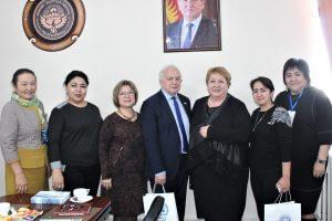 Ректор КГМА приняла ученых-преподавателей из России и Узбекистана