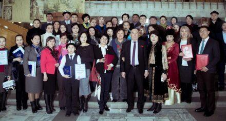 Х.Карасаевдин 120 жылдыгына карата сабаттуулукка багытталган бир айлыктын жыйынтыгы боюнча КММА диплом менен сыйланды