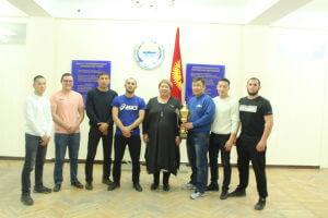 Команда КГМА по вольной борьбе пробилась в Высшую лигу Универсиады