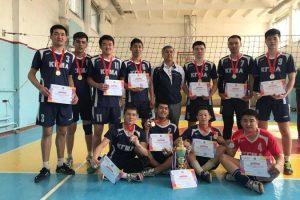 Команда КГМА по волейболу вышла в первую лигу