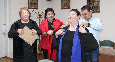 Наталья Заречнова стала почетным профессором КГМА