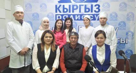 Студенты КГМА вышли в финал радиовикторины по кыргызскому языку