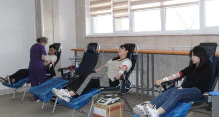 В КГМА проходят Дни безвозмездного донорства крови