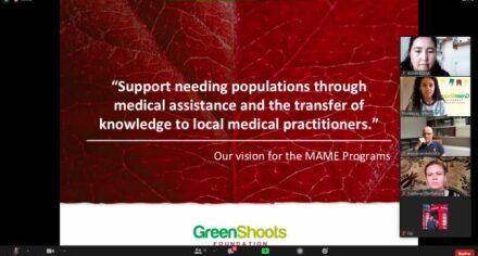 Представители КГМА обсудили проблемы медицинского образования с руководством фонда «GreenShoots»