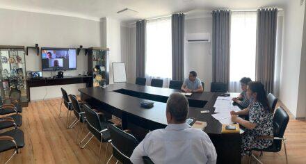В КГМА провели встречу в режиме онлайн с коллегами из Польши