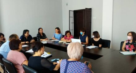 Он-лайн встреча с представителями проекта «Улучшение практики сестринского образования в КГМА»