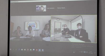В КГМА прошла онлайн встреча с представителями университета Нагасаки