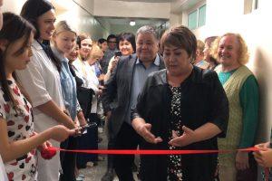 Церемония открытия Педиатрического отделения в Медицинском центре КГМА им.И.К.Ахунбаева