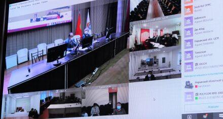 В КГМА состоялось совещание по эпидемиологической ситуации в стране