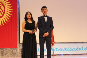 В Большом зале филармонии состоялось «Посвящение в студенты КГМА»