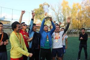 В КГМА завершился турнир по футболу среди студентов на «Кубок ректора»