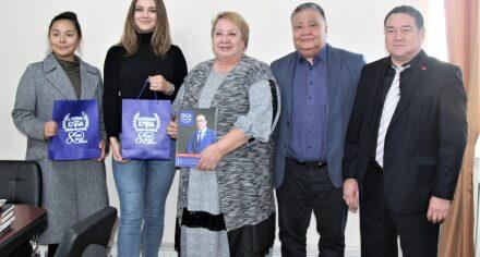 Ректор КГМА встретилась с работниками международного журнала OCA Magazine