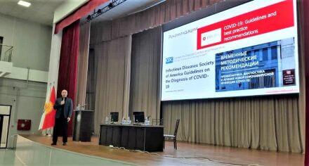 В КГМА прошел тренинг по распространению и профилактике COVID-19